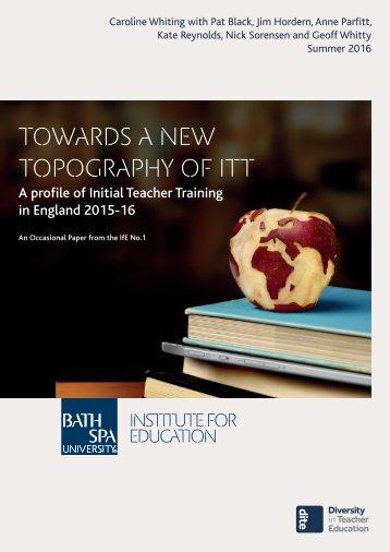 Towards a new topography of ITT