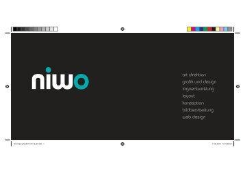 art direktion grafik und design logoentwicklung ... - Grafik mit niwo