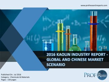 KAOLIN INDUSTRY REPORT