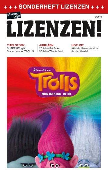 planet toys Sonderheft LIZENZEN 2/16