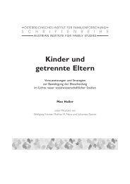 Kinder und getrennte Eltern
