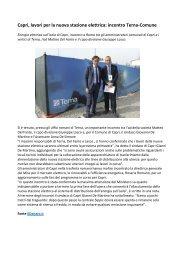 Giuseppe Lasco Terna incontro con il Comune di Capri per nuova Stazione Elettrica