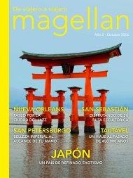 Revista de viajes Magellan - Octubre 2016