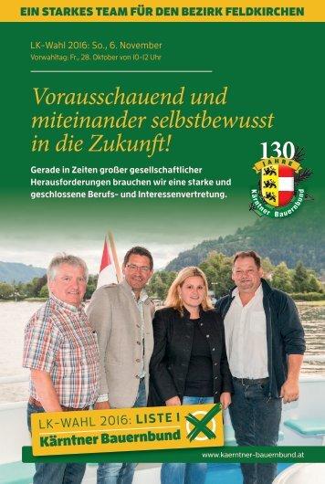 Bezirksprogramm Feldkirchen