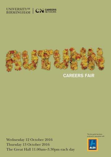 Autumn Fair Guide 2016