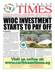 Caribbean Times 7th Issue - Tuesday 4th October 2016