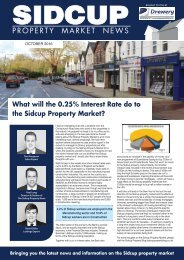 SIDCUP PROPERTY NEWS - OCTOBER 2016