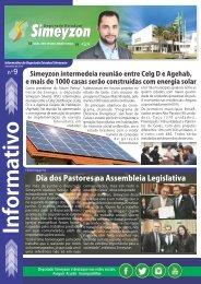 Informativo - Deputado Simeyzon - Página 1 - (Setembro de 2016 - Nº 9)
