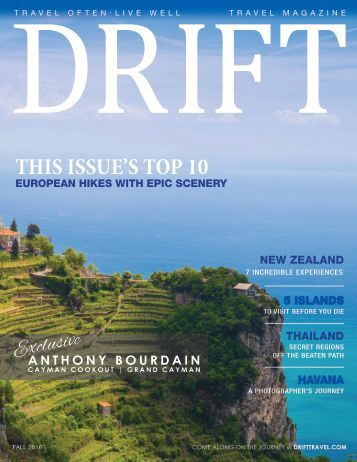 DRIFT Travel Fall 2016
