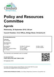 Policy and Resources Committee