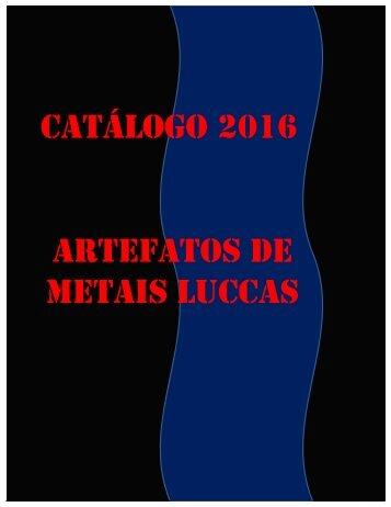 Catálogo Metais Luccas 2016