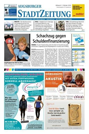 101 Augsburg - Süd 05.10.2016
