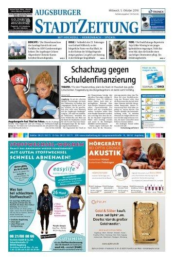 104 Augsburg - Süd-Ost 05.10.2016