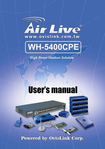 WH-5400CPE_Manual