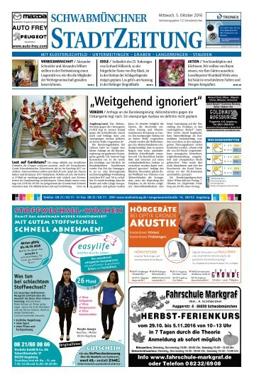 112 Schwabmünchen 05.10.2016