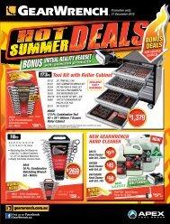 GearWrench Hot Summer Deals