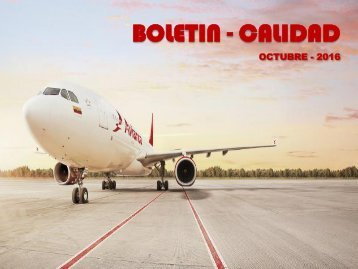 Boletin Calidad - Octubre 2016