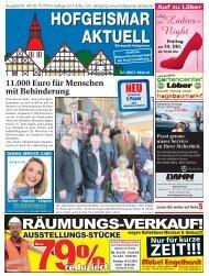 Hofgeismar Aktuell 2016 KW 40