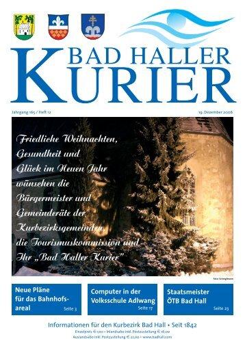 BAD HALLER - Bad Hall - Land Oberösterreich