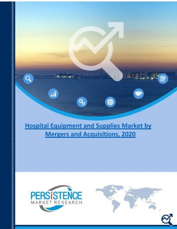 Hospital Equipment and Supplies Market by Mergers and Acquisitions, 2020