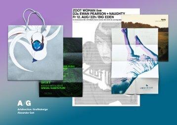 Artdirection/Grafikdesign Alexander Geh - Branding Alexander ...