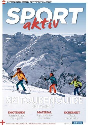 SPORTaktiv Skitourenguide 2016