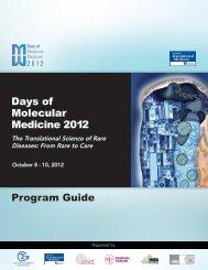 Speaker Abstracts - Days of Molecular Medicine 2012 - American ...