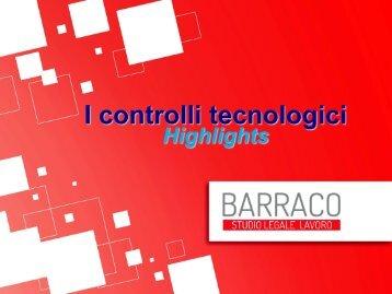 I controlli tecnologici