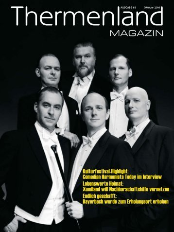 Thermenland Magazin Oktober 2016