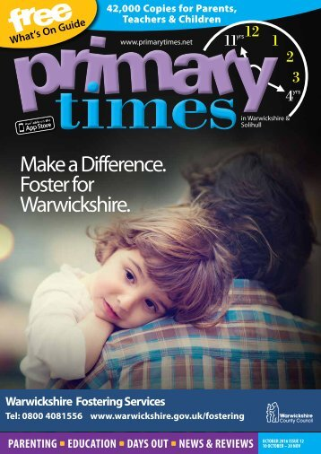 Primary Times Warwickshire October 2016