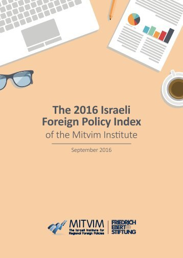 The 2016 Israeli Foreign Policy Index