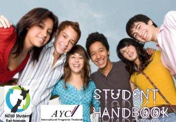 Student hand book Inbound