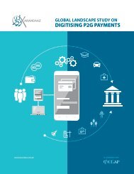 DIGITISING P2G PAYMENTS
