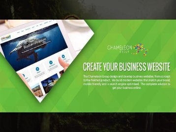Create Your Business Website - Chameleon Print Group - Australia