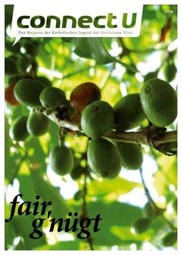 connectU 2/09 - fair g'nügt