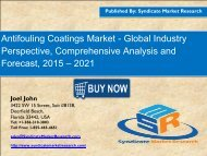 Antifouling Coatings Market