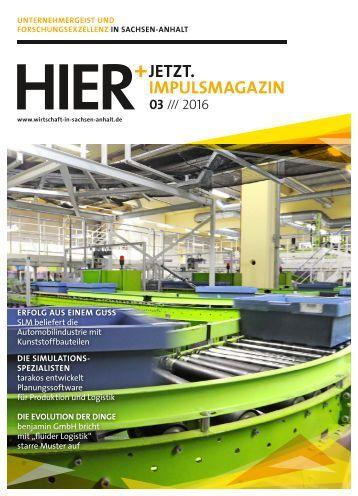 HIER+JETZT. Implusmagazin // Ausgabe 03/2016