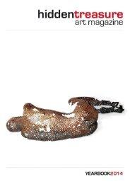 Hidden Treasure Art Magazine Yearbook 2014