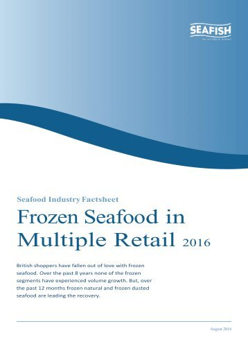 Frozen Seafood in Multiple Retail
