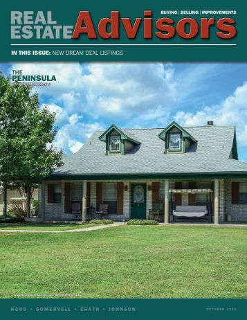 The Real Estate Advisors Magazine - October 2016