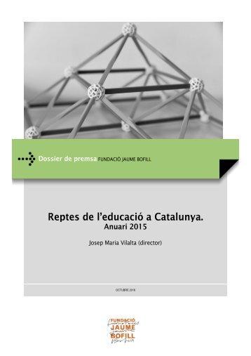 Reptes de l'educació a Catalunya