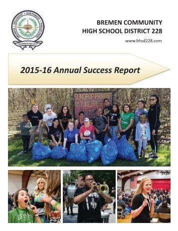 2015-16 Annual Success Report