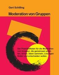Moderation von Gruppen - Schilling Verlag