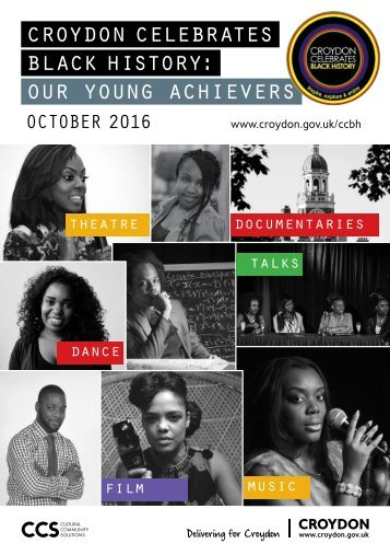 croydon celebrates black history our young achievers