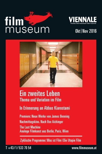 Filmmuseum Programmheft Oktober November 2016