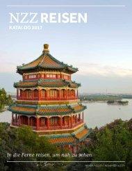 NZZ Reisen Katalog 2017