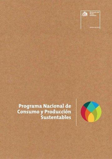 Programa Nacional de Consumo y Producción Sustentables