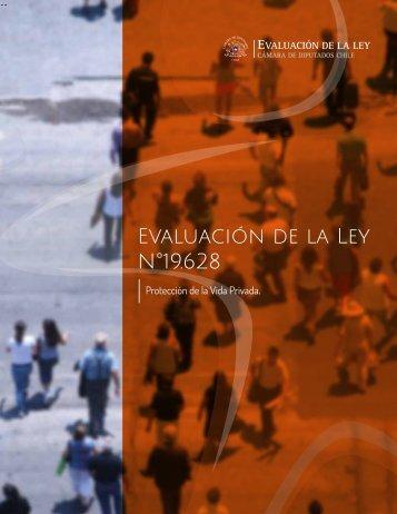 Evaluación de la Ley N°19.628