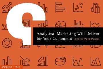 Analytical Marketing Will Deliver for Your Customers
