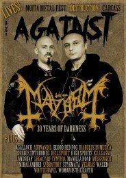 Against - April 2014